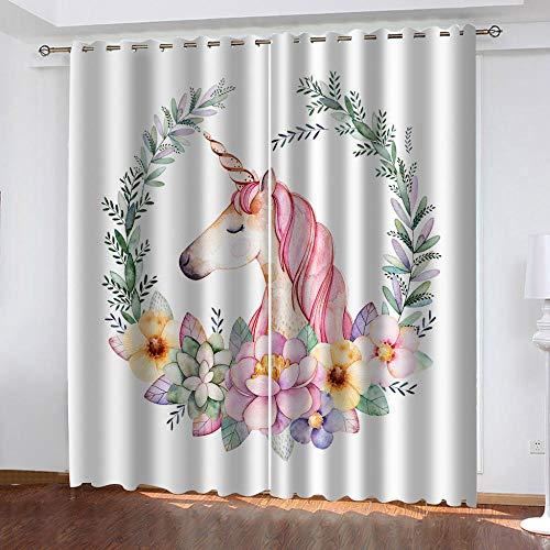 cortinas opacas termicas unicornio