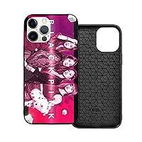 LA MEACK Blackpink ファッショントレンディなカワイイ日本/韓国スター周辺携帯電話ケース、携帯電話付きのパーソナライズされたiphone 12携帯電話ケース、より完璧なデザイン、あなたの魅力を強調 Ip12-6.1