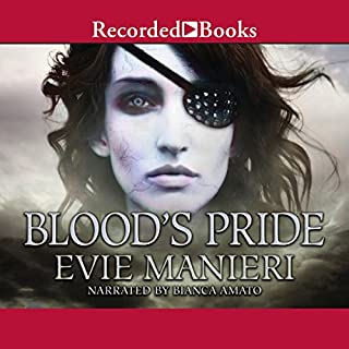 Blood's Pride audiobook cover art