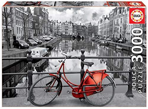 Educa - Ámsterdam Puzzle, 3000 Piezas, Multicolor (16018)