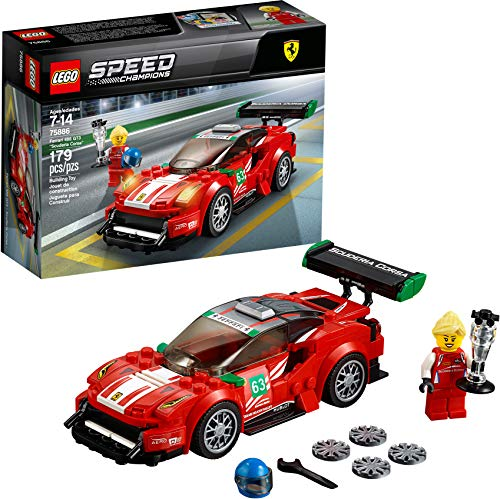 "LEGO Speed Champions Ferrari 488 GT3 ""Scuderia Corsa"" 75886 Building Kit (179 Pieces)..."