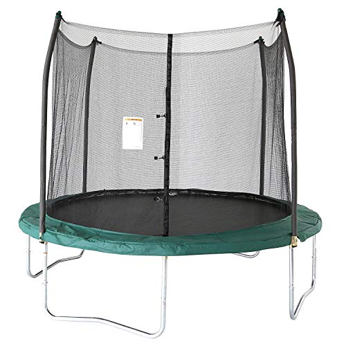 Evaxo Trampolines 10' Round Trampoline and Enclosure - Green