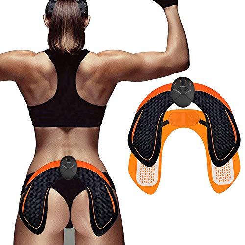 WARDBES Po Trainer,EMS Trainingsgerät zur gezielten Stimulation der Po Muskulatur,Beckenboden trainingsgerät,EMS Bauchmuskeltrainer- Elektro Stimulationsgerät Po Muskeln,Fitness Training für Frauen