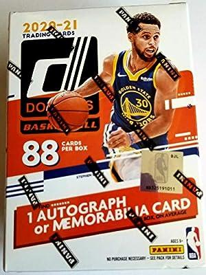 2020/21 Donruss Basketball Blaster Box 88 Cards Per Box 1 Autograph or Memorabilia Card Per Box Factory Sealed