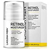 Lagunamoon Retinol Moisturizer Cream for Face & Eyes with Hyaluronic Acid and Vitamin E, 50ML/1.69 Oz