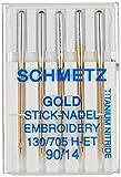 Euro-Notions Machine à Broder Or Needles-Size 14/905/Pkg, d'autres, Multicolore