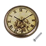 Pomo Reloj Reloj Cajón Armario Puerta Armario Armario Tirad