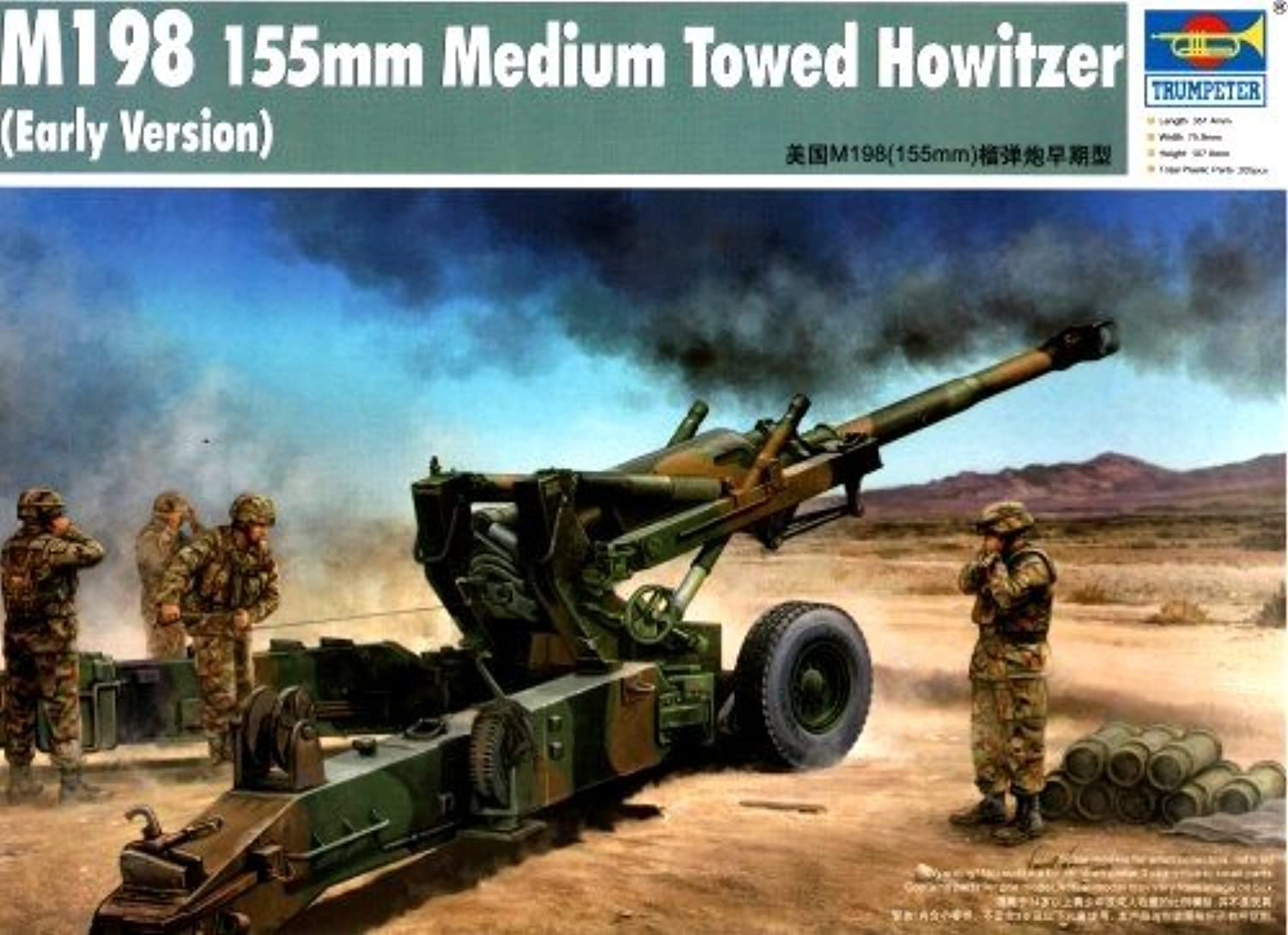 Trumpeter 1 35 M198 Medium Towed Howitzer Early Version Model Kit