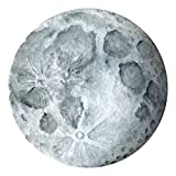 Full Moon Watercolor Wall Decal | High Quality, Removable, Eco-Friendly, Peel and Stick Fabric Wall Art Sticker