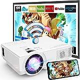 Projecteur WiFi M8-TPA 1080P Full HD Supportée, Mini...