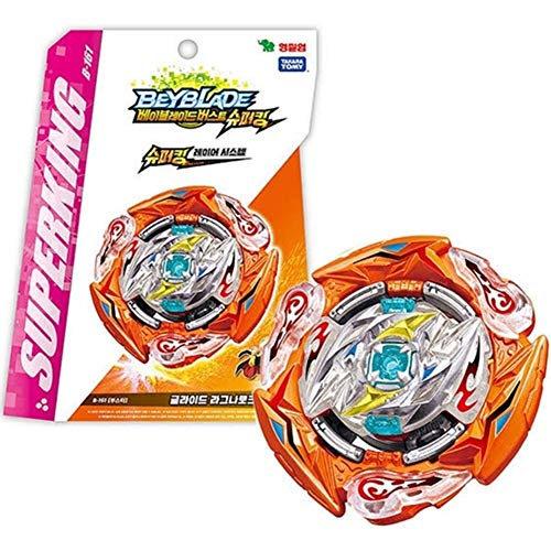 TOMY Games Burst B-161 Booster Glide Ragnaruk.WH.R 1S Superking Layer System
