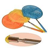 Onepine Paquet de 3 filets à papillon télescopiques pour enfants, capturant les...