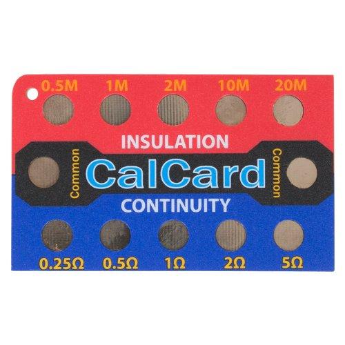 NICEIC CalCard Kalibrierungs-Kontrollkarte