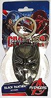 Marvel(マーベル)Avengers(アベンジャーズ)Black Panther(ブラックパンサー)Head Pewter Keyring(キーホルダー) [並行輸入品]