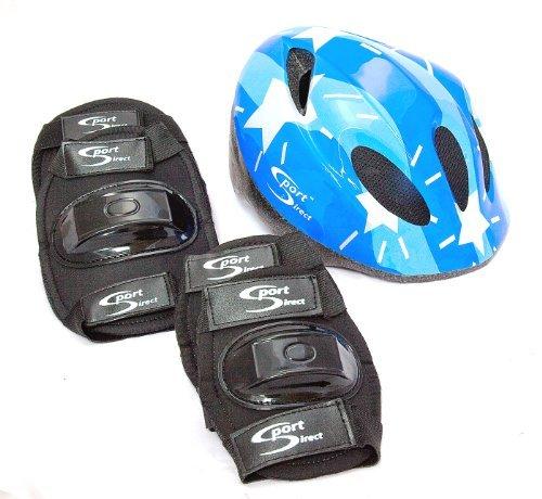 Sport Direct™ Casque de vélo VTT &Plus de sécurité Enfants-Set de Coussinets pour garçon