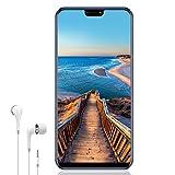 Telephone Portable Debloqué 4G V mobile Mate 20 32GB-Jusqu'à 128 Go Smartphone Pas Cher Batterie 4300mAh 5.85'' HD 3Go RAM Dual Caméra Android 7 Empreinte Digitale Face ID Dual SIM Flash (Bleu Foncé)