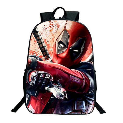 Douzxc Mochila De Anime Deadpool, 7