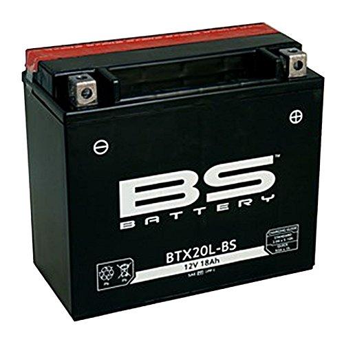 BS Battery - BATERIA BTX20L-BS 18.9 Ah, 12V 175 x 87 x 155 mm PARA MOTOS, CORTACESPED ,ETC