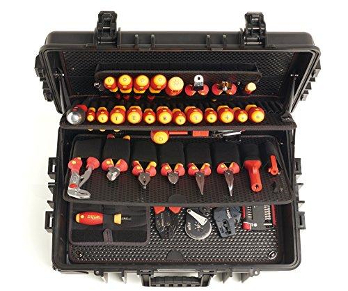 Wiha Werkzeug Set Elektriker Competence XXL gemischt 115-tlg. in Koffer (40524) - 2