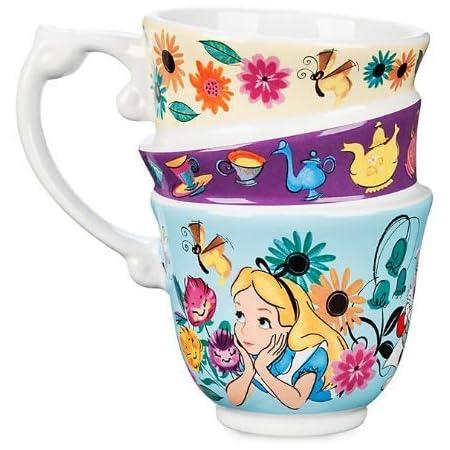 Alice au Pays des merveilles-Mug empilable: Amazon.fr: Cuisine & MaisonAmazon