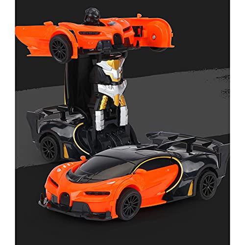 1:22 Coche de control remoto deformado Coche de juguete eléctrico Coche de deriva Coche giratorio de 360 grados Hobby Coche de juguete Componentes electrónicos ABS 2.7GHz Coche deportivo de alta vel