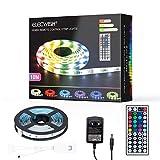 Fullwatt Tira de luces LED, 10 m, tira de luces LED, tira de luces LED, tira de luz LED, tira de luces LED, color blanco, cambio de color para casa, cocina, TV, fiesta, autoadhesivo