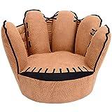 HOMCOM Kindersofa Kindersessel Sofa Couch Kinder Stuhl Kinderzimmer Softsofa Doppelsofa Einzelsofa (Fingersofa)