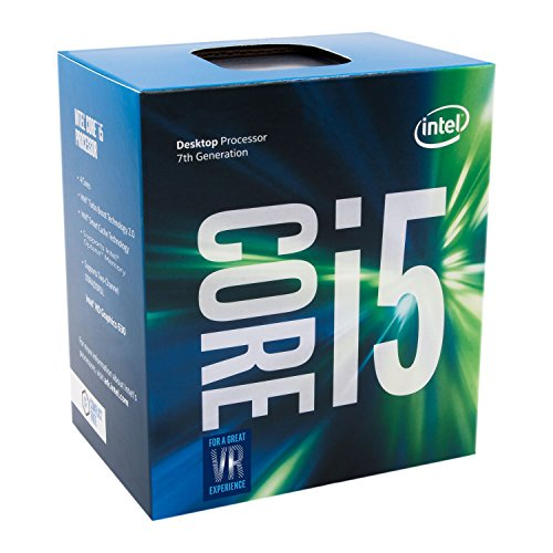 Intel BX80677I57500 Intel Core i5 7500, Quad Core, 3.4GHz, 3.8GHz Turbo, 1100MHz GPU, 65W, Argento