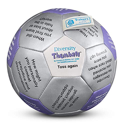 Diversity Thumball � 6� Icebreaker and Conversation Starter