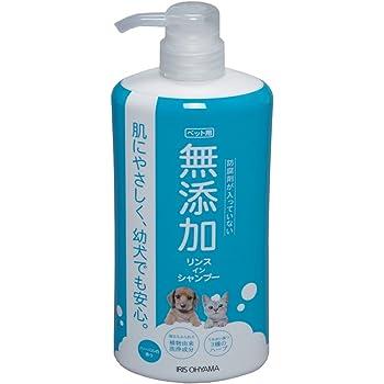 アイリスオーヤマ ペット用 無添加リンスインシャンプー 犬猫用 600ml MRS-600