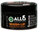 All G Essentials - Hemp-Cream Warm-up Accelerator Lotion Workout-Cream Hemp-Pain-Reliever Pre-Workout Cream Made in The USA