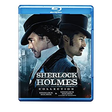 Sherlock Holmes Collection (Sherlock Holmes / Sherlock Holmes: A Game Of Shadows) Blu-ray [Import]