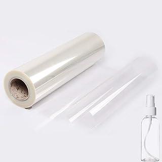 loyouve 透明シール キッチンシート 45CM×5M 剥がせる中粘度(貼って剥がせて糊残りなし) キッチン用 家具 台所 防水 防油 防汚 耐熱 リビング キッチン 貼りやすい 透明シート (室内装飾には影響しません)
