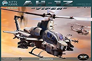 Kitty Hawk model 1/48 AH-1Z Viper United States Marine Corps attack helicopter model car
