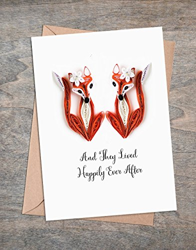 Congratulations Card for Lesbian Same Sex Marriage - Mrs and Mrs Wedding - Engagement Card - 5.5 * 4.25 A2 folded card with envelope