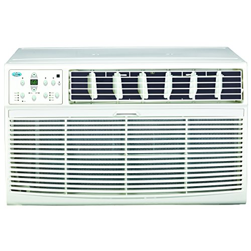 PerfectAire 2PATWH12000 12,000 BTU Thru-The-Wall Air Conditioner with Electric Heat, 220V, 450-550 Sq. Ft. Coverage