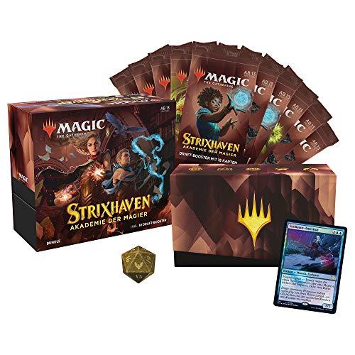 Magic the Gathering Strixhaven-Bundle, 10 Draft-Booster & Zubehör-Deutsche Version
