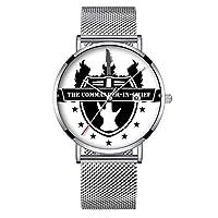 ミニマリストファッションクォーツウォッチエリート超薄型防水スポーツ時計メッシュバンド251を使用した日付で Edelstable