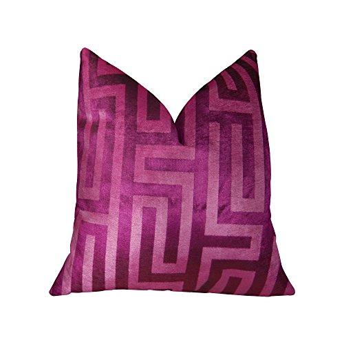 Plutus marcas Plutus Cesire terciopelo laberinto hecho a mano manta almohada
