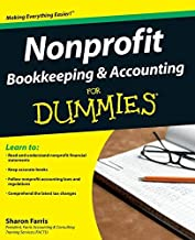 Nonprofit Bookkeeping and Accounting For Dummies by Farris, Sharon 1st edition (2009) Paperback