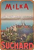 Vvision Milka Suchard Blechschild Metall Plakat Warnschild