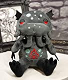 Ebros Gift Mythical Fantasy Colossal Sea Monster Cthulhu Kraken Luxe Soft Plush Toy Doll 7.75' Tall Collectible Legendary Giant Octopus Creature Dolls Plushes Toys