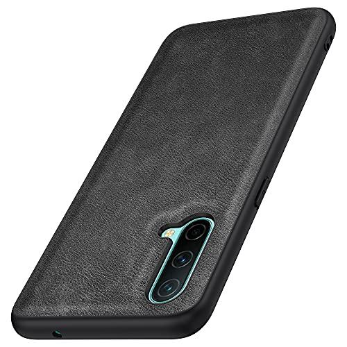 Kqimi Hülle für Oneplus Nord CE 5G, Premium Leder Slim Stilvolle Soft Grip Stoßfeste Anti-Kratzschutz Schutzhüllen für Oneplus Nord CE 5G (6.43