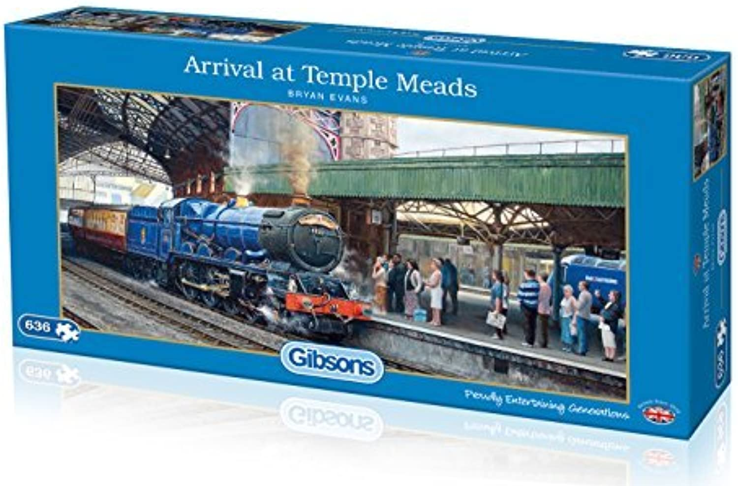 Gibsons Arrival at Temple Meads Jigsaw Puzzle (636-Piece) by Gibsons