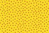 Westfalenstoffe * Junge Linie * Gelb Tupfen 0,5m *