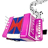 TOYTYKES Purple Color Kids Accordion, Lightweight and...