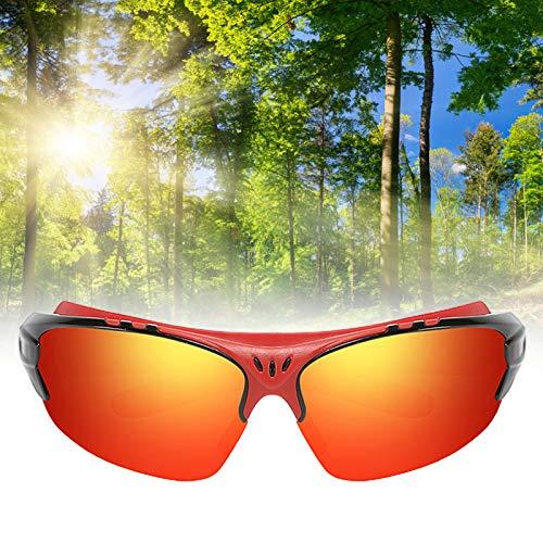 ENticerowts Mehrfarbige Mode Unisex Outdoor Sports Polarisierte Sonnenbrille Winddichtes Und Langlebiges PC-Sportzubehör 04
