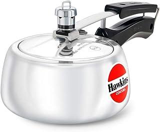 Hawkins HC15 Contura 1.5-Liter Pressure Cooker, Small, Aluminum