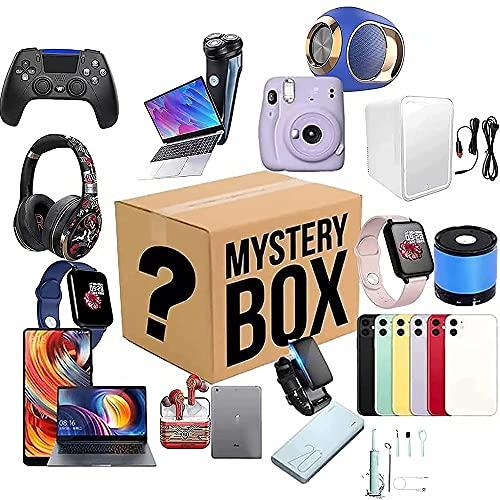 YHX Scatole Mysteries Electronic, Mystery Fortunato Scatola, scatole Fortunate, Prodotti misteriosi Casuali, c è la possibilità di Aprire: Come droni, Orologi Intelligenti, Gamepad