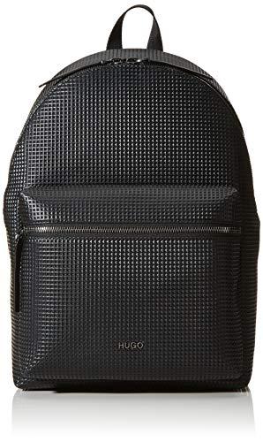 HUGO Herren Rocket S_backpack Rucksack Schwarz (Black)